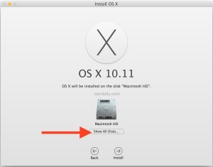 show-all-disks-for-installing-os-x-10-11